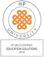 HP University 2018 Seal