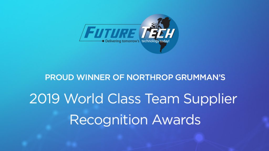 Northrup Grumman Supplier Award