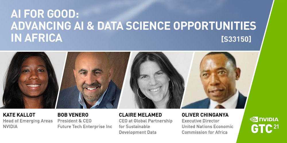 GTC Conference 2021 - AI for Good